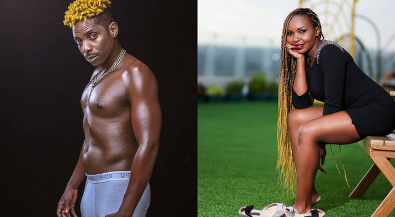 Journalist's hubby reacts after video of wife drooling over shirtless Eric Omondi emerges
