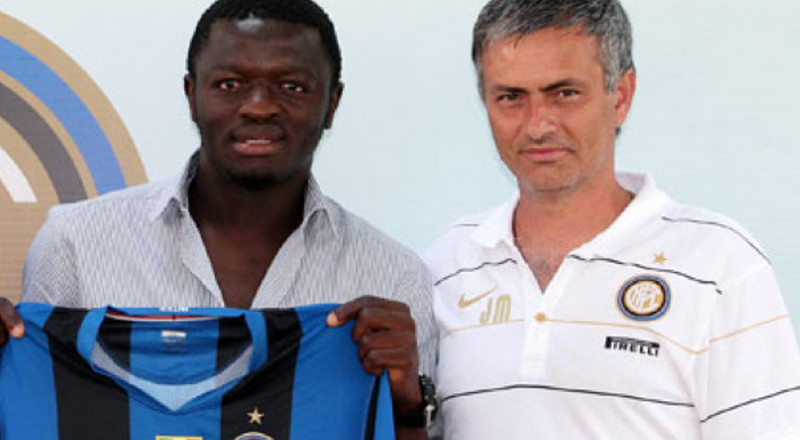 Muntari recounts how one phone call from Mourinho made him join Inter Milan