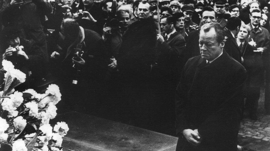 Willy Brandt w Warszawie 7 grudnia 1970 r.