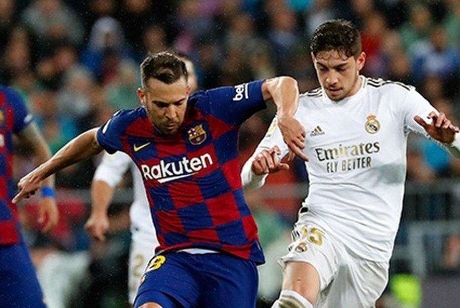 Jordi Alba i Federico Valverde