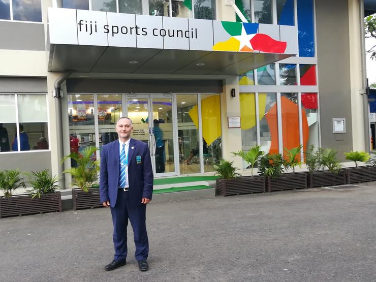Profesor Mihajlović u Fidžiju na takmičenju gde takođe sudi mečeve