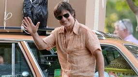 """Tom Cruise na planie filmu """"Mena"""""""
