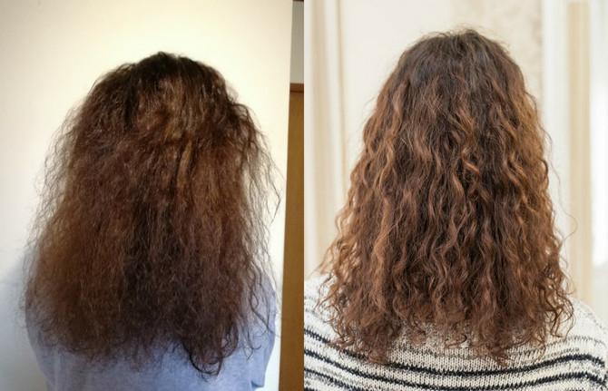 Dajanina kosa nakon tretmana
