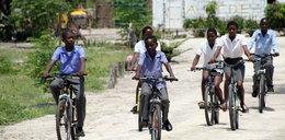 Żyją lepiej dzięki rowerom
