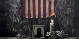 Nowe dzieło Banksy'ego. Komentuje nim śmierć George'a Floyda