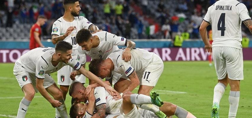 Hit dla Włochów. Belgowie walczyli, ale pudłowali