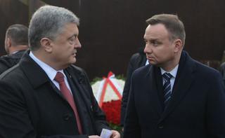 Poroszenko: W polsko-ukraińskiej historii więcej tego, co łączy, niż dzieli