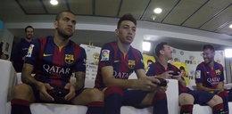 Gwiazdy Barcelony grają w FIFĘ! WIDEO