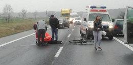 Rowerzysta w ciężkim stanie. Potrącony przez 79-latka