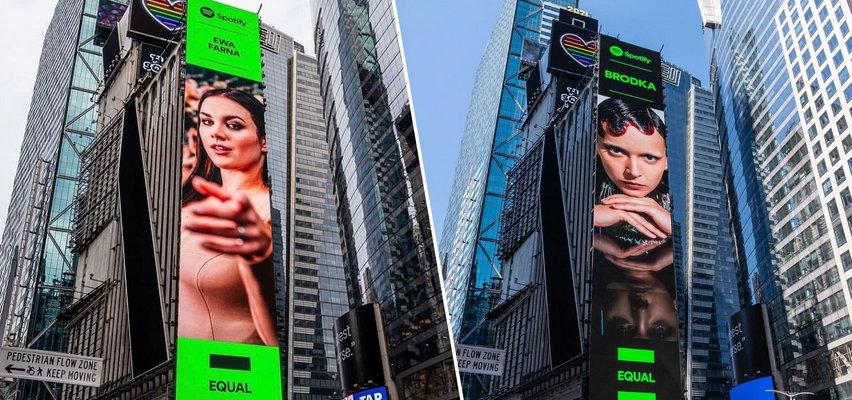 Polskie artystki na Times Square. Brodka i Farna wyróżnione w Nowym Jorku