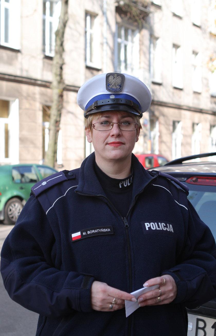 Marzanna Boratyńska, rzeczniczka drogówki