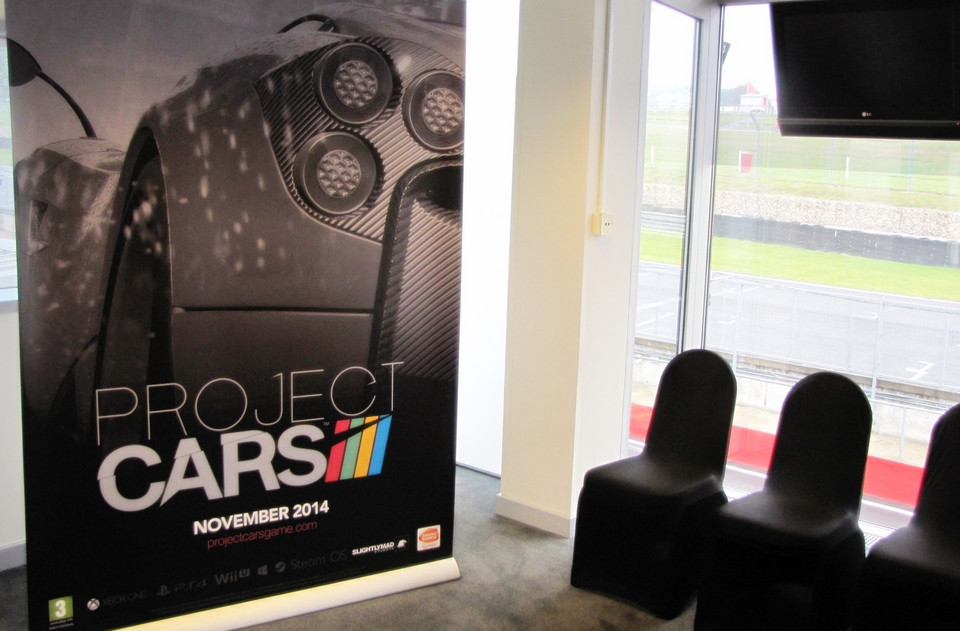Project Cars w Brands Hatch