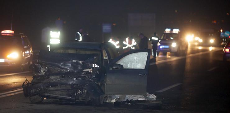 Zbog nesreće i saobraćaj na ovom potezu odvijao se otežano