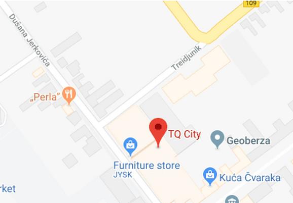 Ulica se nalazi odmah pored istoimenog tržnog centra