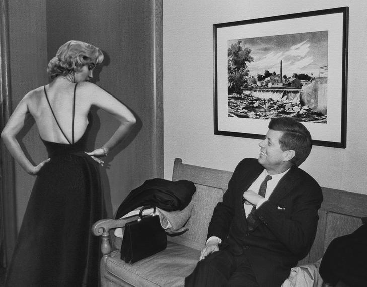 Monroe-nak és Kennedynek állítólag intim viszonya volt /Fotó: Profimedia