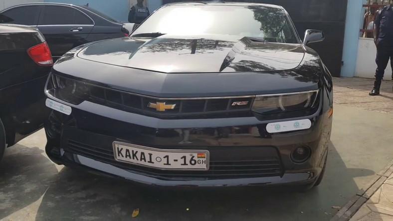 Shatta Wale's kakai car