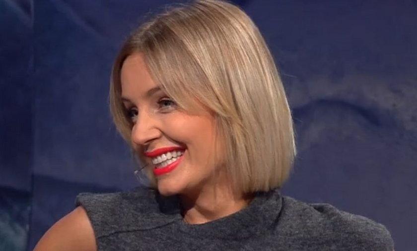 Agnieszka Szulim w programie Kuby Wojewódzkiego
