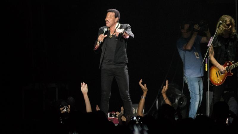 Lionel Richie na koncercie w Gdańsku