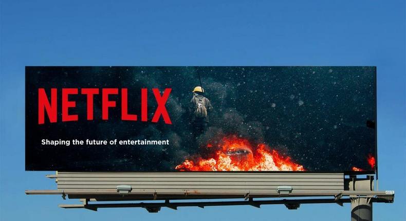 Netflix billboard