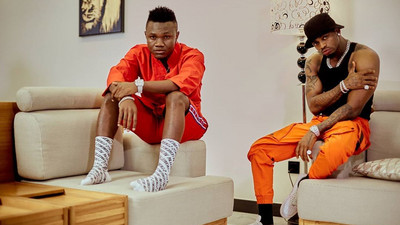 Mbosso pokes fun at Diamond after fan won a pack of Condoms on Wasafi TV