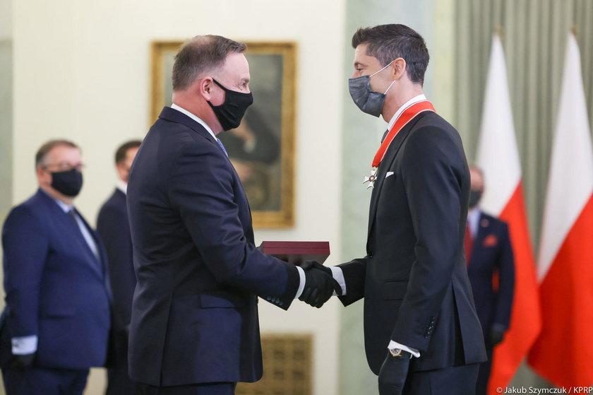 Prezydent odznaczył Lewandowskiego