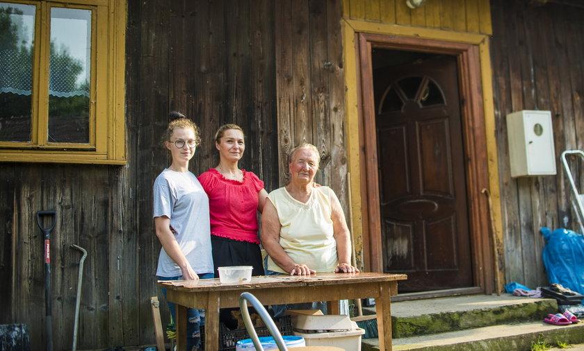Pani Ula z rodziną mieszka w 100-letnim domu.