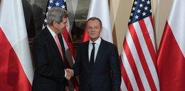 Tusk spotkał się z Kerrym