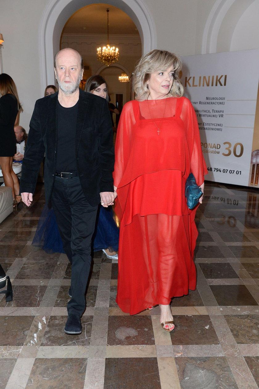 Katarzyna Grochola i Stanisław Bartosik