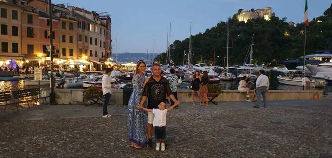 Dragana sa suprugom i sinom ovog leta u Italiji