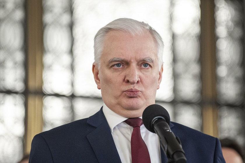 Jarosław Gowin wrócił do rządu