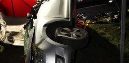 Przerażający wypadek! Nie żyje 25-letni kierowca