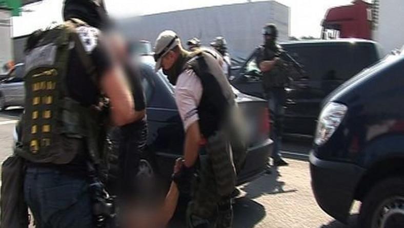 Brawurowa akcja policji! Złodziei dopadli z powietrza