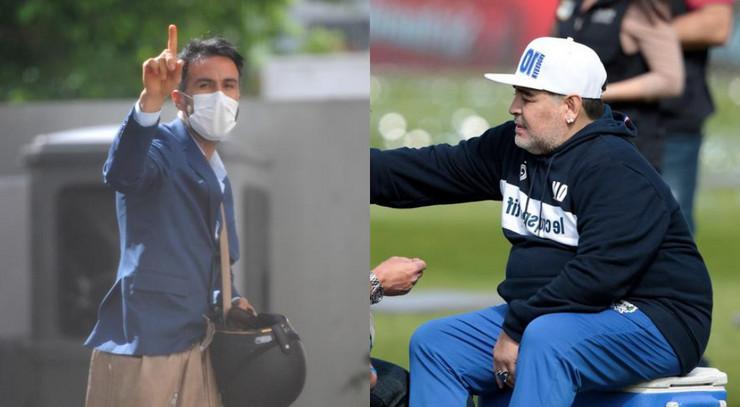 Leopoldo Luke i Dijego Maradona