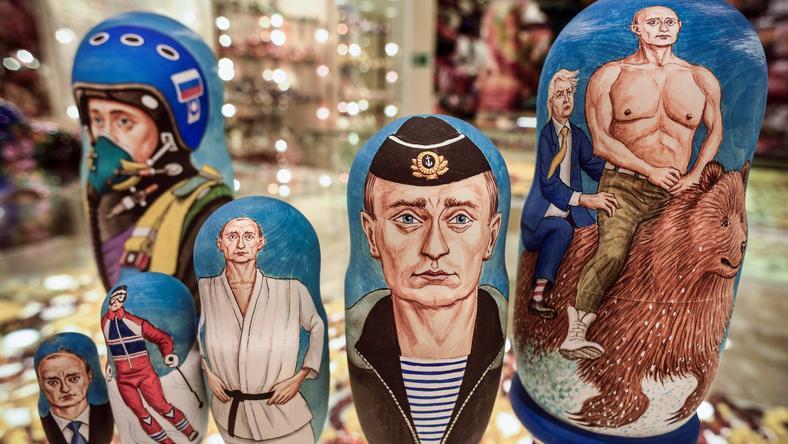 Kult Putina w Rosji