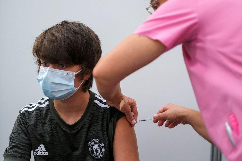 W Portugalii największy przyrost nowo zaszczepionych obserwuje się w tej chwili pośród dzieci w wieku powyżej 12 lat.