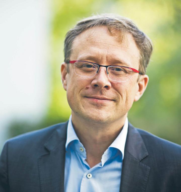 Dr Rafał Reiwer, zastępca dyrektora departament wykonania orzeczeń i probacji Ministerstwa Sprawiedliwości fot. Wojtek Górski
