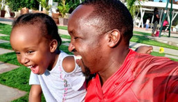 Citizen TV's Hassan Mugambi shares adorable moment with daughter (Video)