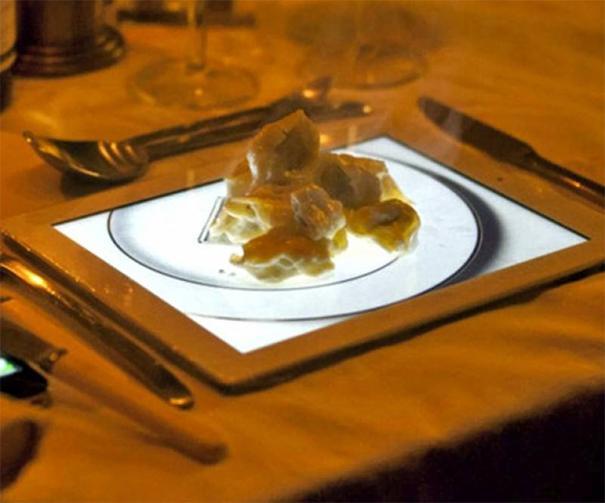 Umesto tanjira - iPad