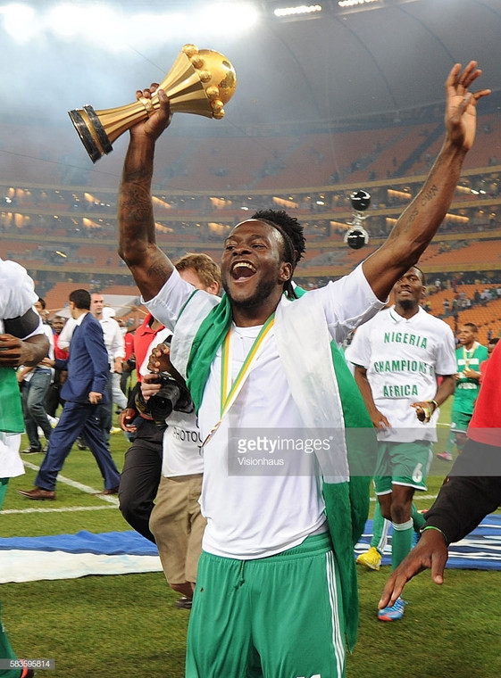 Victor Moses won the AFCON in 2013 with the Super Eagles (Getty Images)