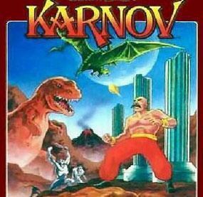 <P>19. Karnov (Karnov)  </P>Kiedy zło zagraża światu, Rosja wysyła swojego najlepszego wojownika Jinborova Karnovskiego, (w skrócie Karnov), aby ocalił ludzkość. Karnov to muskularny cyrkowiec, ziejący ogniem, który swoich wrogów zmienia w coś na kształt