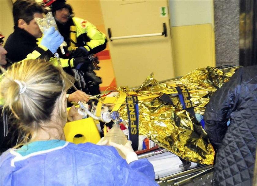 Pilot Kubicy: Po wypadku stracił przytomność