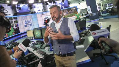 Program Skórzyńskiego znika z anteny TVN24. To pokłosie afery mailowej
