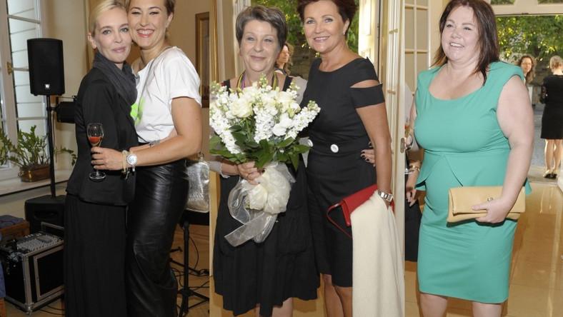 Kobiety VIP-y na spotkaniu u dr Ireny Eris