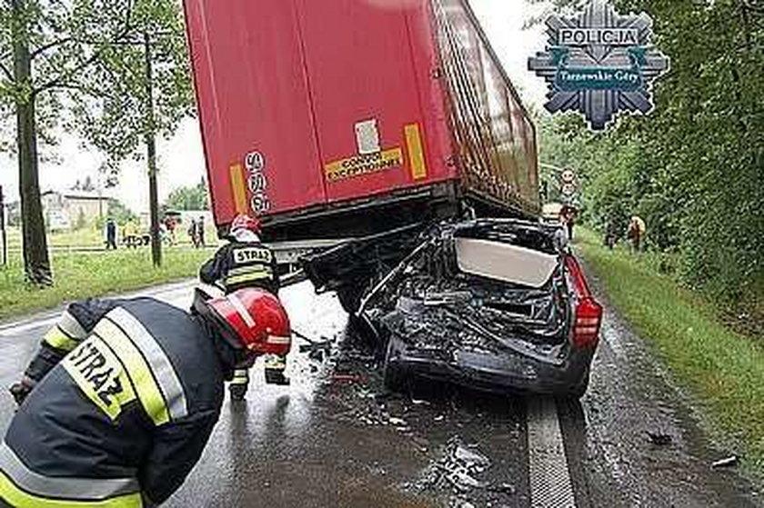 Cud? Temu kierowcy nic się nie stało!  FOTO