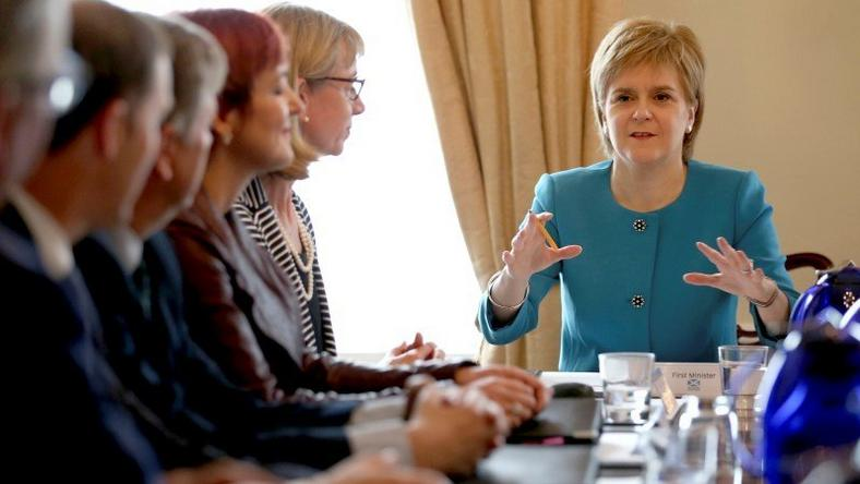 Sturgeon to meet EU leaders in drive to keep Scotland in bloc