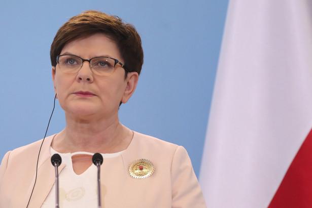 """Jak wskazywała, format wizyty Donalda Trumpa w Polsce był """"nieco inny, niż w czasie wizyt oficjalnych, kiedy z prezydenci USA spotykali się również z premierami, czy przedstawicielami innych ugrupowań politycznych""""."""