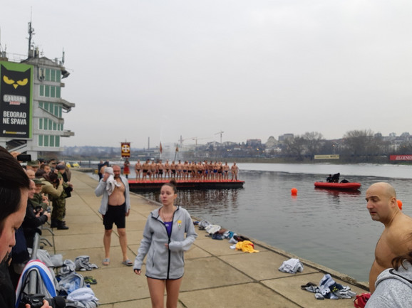 Jedina učesnica: Među 55 plivača bila je i Ksenije Jovanović