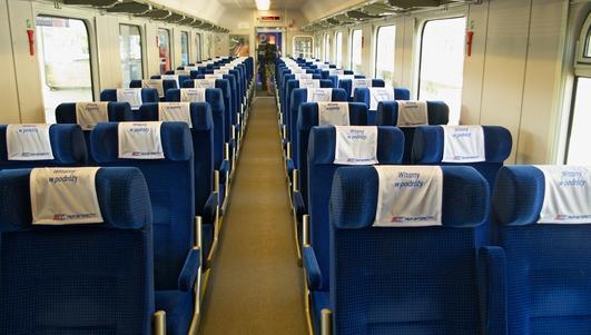 Mieszkańcy Warmii i Mazur wybierają nazwę pociągu PKP Intercity
