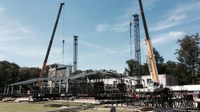 Wielka scena na Linkin Park w budowie