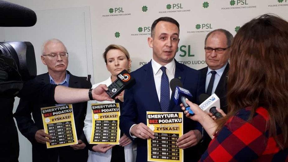 Wiceszef PSL Dariusz Klimczak